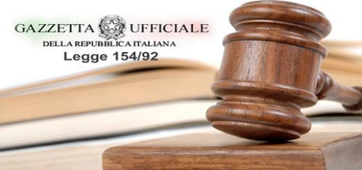 legge 154/92