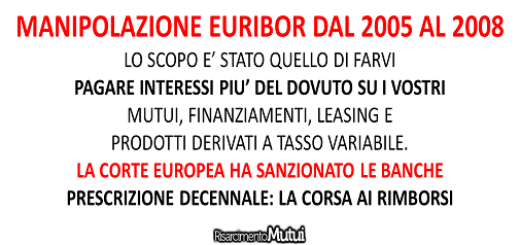 scandalo euribor